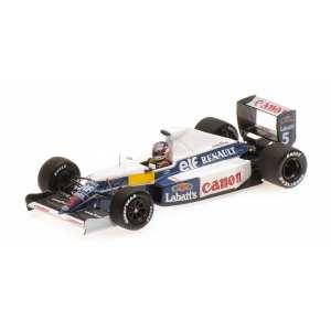 1/43 Williams Renault FW13B, Nigel Mansell, Test session